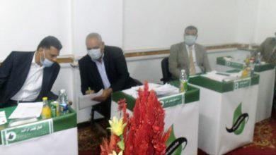 صورة البياع يجتمع بمديري مناطق جنوب الوادي في أسيوط