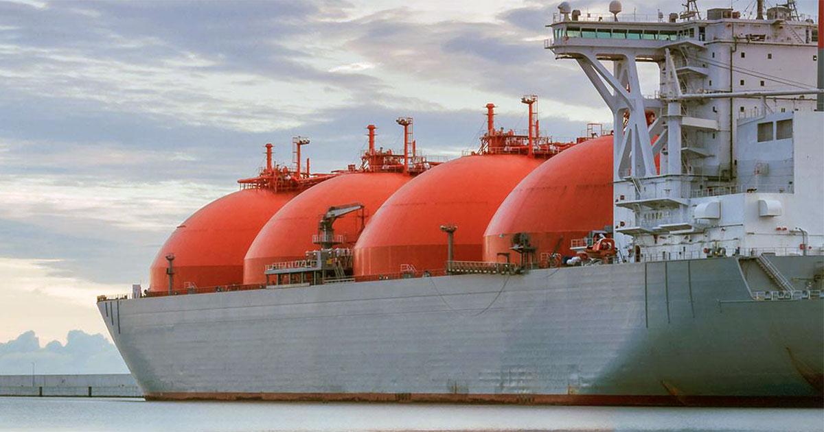 تصدير الغاز المسال