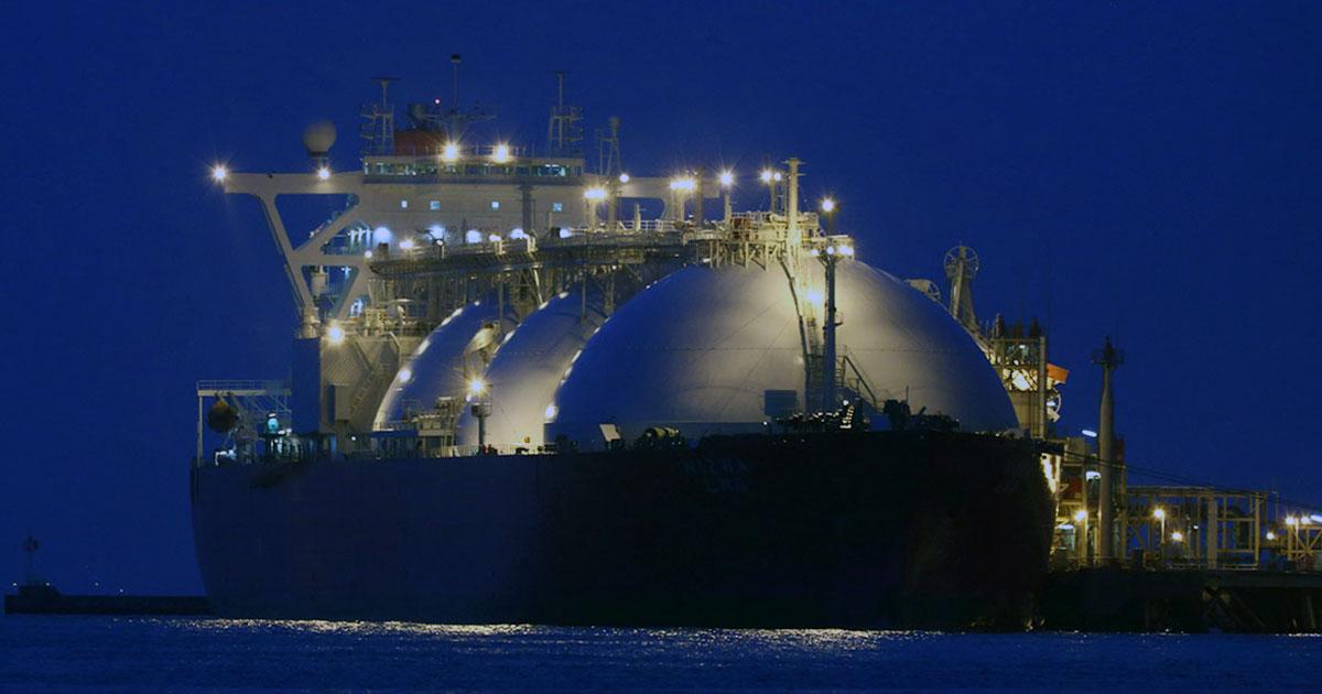 تصدير الغاز الطبيعي المسال