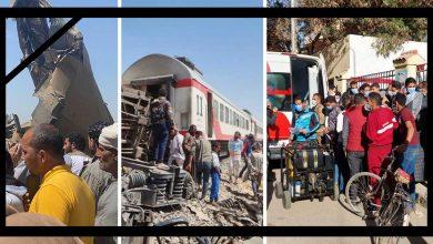 عمال بتروتريد يشاركون في دعم مصابي حادث تصادم قطاري سوهاج