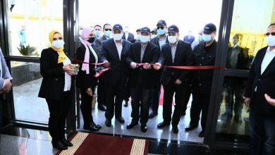 وزير البترول يتفقد مشروع محطة ضواغط غاز دهشور