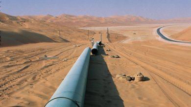 توسعات شبكة الغاز الأردنية