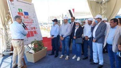 وزير البترول ونواب الشعب في زيارة مصفاة تكرير ميدور