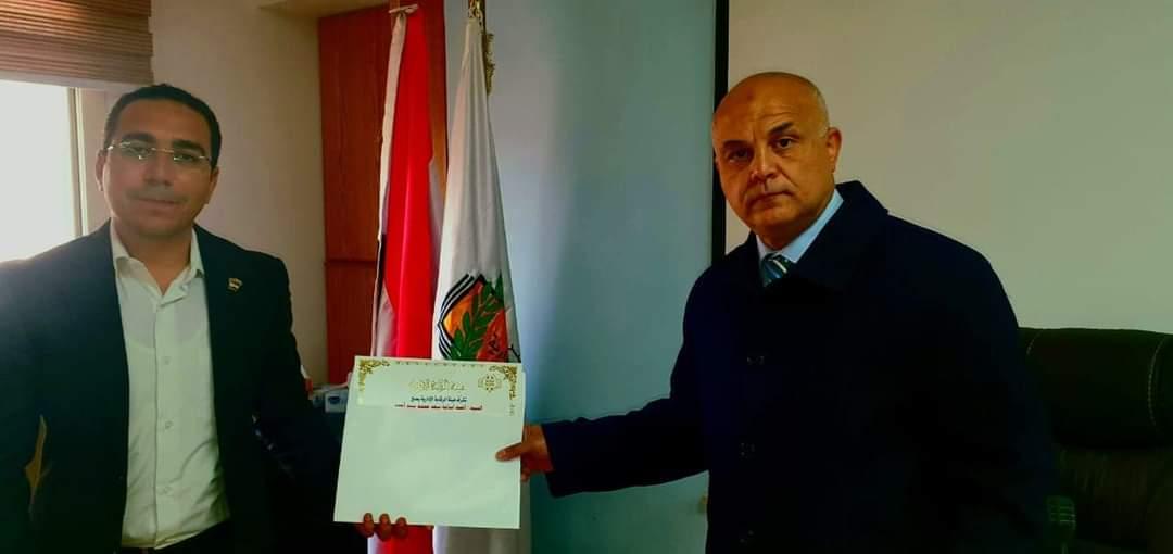 الزميل أحمد أسامة يحصل على شهادة إتمام البرنامج التدريبي لمكافحة الفساد و الحوكمة