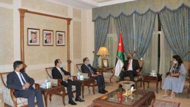 رئيس الوزراء الأردني يستقبل وزراء بترول مصر وسوريا ولبنان