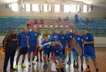 فريق كرة اليد 35 سنه بشركة النصر للبترول