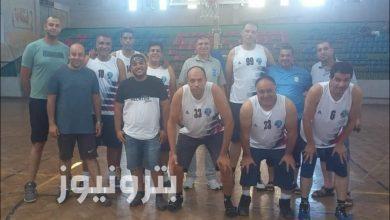 فريق الإسكندرية للبترول - كرة السلة 45 سنة