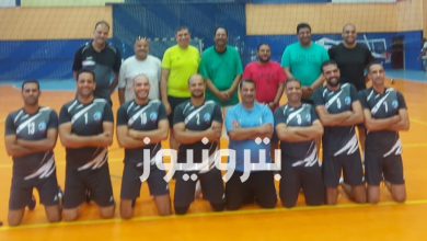 مباراة الأسكندرية للبترول والنصر للبترول