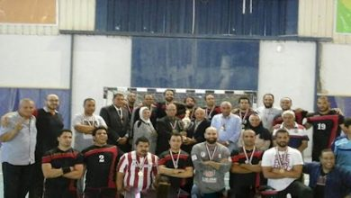 فريق كرة اليد بشركة جابكو
