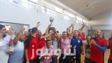 فوز فريق النصر للبترول بذهبية كرة اليد 35 سنة