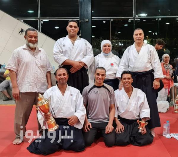 فريق أكاديمية طه للألعاب القتالية الفائز ببطولة الجمهورية والمركز الأول