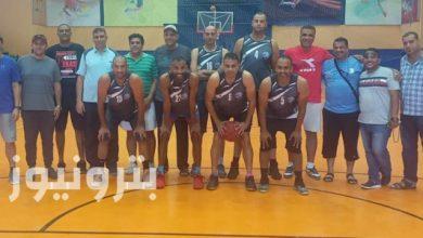 """فريق """"الإسكندرية للبترول"""" - كرة السلة 35 سنة"""
