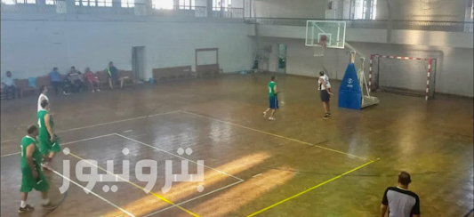 لقطات من مباراة الإسكندرية للبترول و العامرية للبترول - كرة السلة 45 سنة