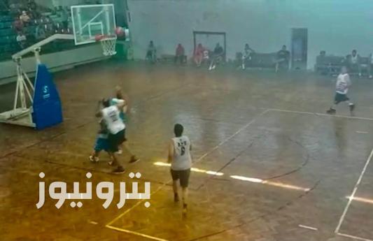 لقطات من فوز الإسكندرية للبترول على كهرباء شمال - كرة السلة 35 سنة