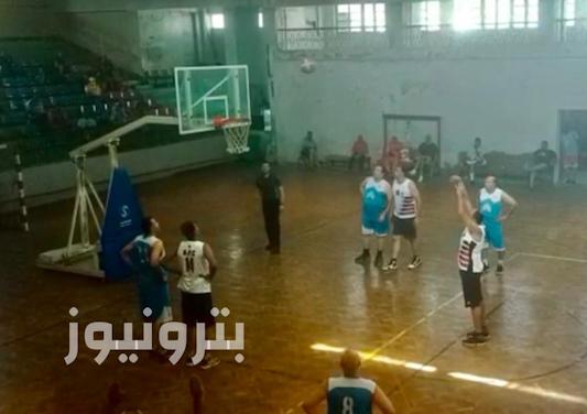 الإسكندرية للبترول يفوز على كهرباء شمال - كرة سلة 35 سنة