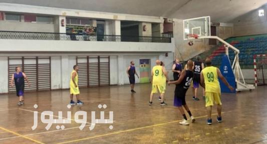 مباراة بتروجيت و تكرير البترول - كرة السلة 45 سنة