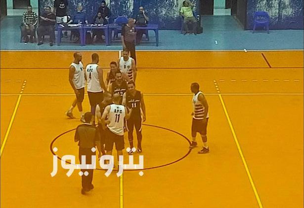 لقطات من مباراة الإسكندرية للبترول ومصر للتأمين - كرة السلة 35 سنة