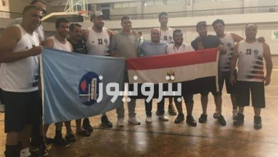 الإسكندرية للبترول يفوز بذهبية السلة 45 سنة