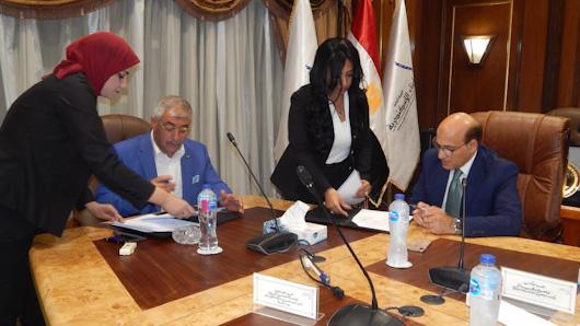 بروتوكول تعاون بين بتروتريد و ميناء الإسكندرية لتجميع المخلفات البترولية والزيوت البحرية