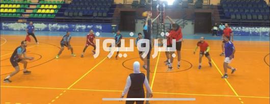مباراة النصر للبترول ومطاحن الدلتا - الكرة الطائرة 35 سنة