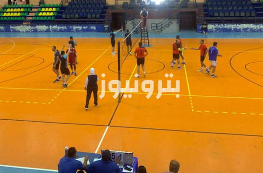 مباراة النصر للبترول و مطاحن الدلتا - الكرة الطائرة 35 سنة