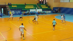 مباراة بتروتريد و سماد أسيوط - الكرة الخماسية 35 سنة