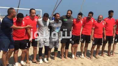 فريق بوتاجاسكو لكرة القدم الشاطئية 35 سنة