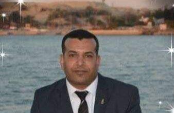 الزميل إيهاب فوزي مكين - منطقة الإسماعيلية