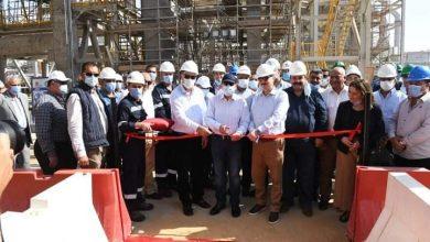 وزير البترول يفتتح المرحلة الاولى لتوسعات مصفاة ميدور