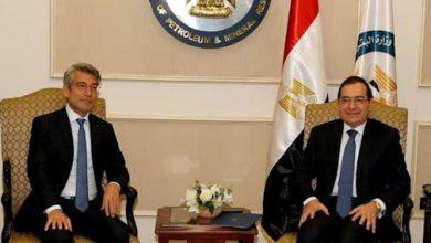 مباحثات مصرية لبنانية في الطاقة و الغاز الطبيعي