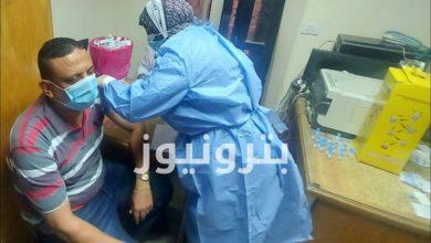 تطعيم العاملين بمنطقة بورسعيد