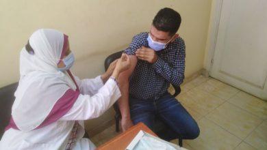 تطعيم العاملين بمنطقة المرج بلقاح فيروس كورونا